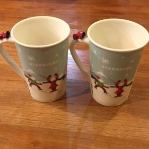 2 Starbucks Holiday coffee cups